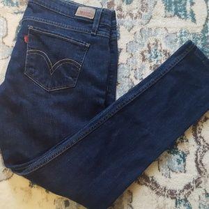 Womens levi skinny jeans